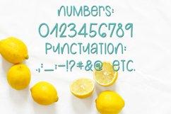 Web Font Lemons and Sugar- A Fun Hand-Written Mismatched Fon Product Image 5