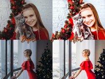 CHRISTMAS Lightroom Presets Bundle for Mobile and Desktop Product Image 7