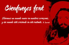 Cienfuegos font Product Image 2