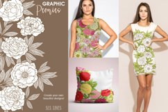 Pretty Peonies in Pink & Yellow Product Image 4