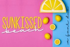 Sunkissed Beach - a Hand Lettered Font Pair - Script & Print Product Image 1