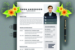 Resume Template Product Image 1