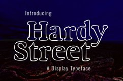 Hardy Street Product Image 1