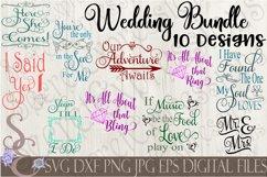 Wedding SVG Bundle 10 Designs Product Image 1