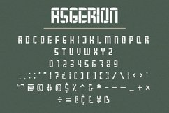 Asgerion - Display Font Trio Product Image 8