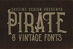 Pirate- Vintage Style Font Product Image 5