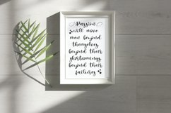 Millenial Script Modern Calligraphy Product Image 6