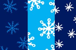Christmas bundle with snowflakes and patterns Product Image 5
