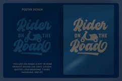 Panda Retro Script Font Product Image 3
