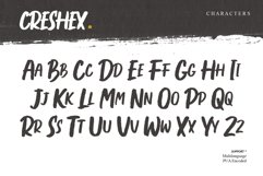 Creshex Dry Brush Font Product Image 4