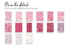 15 Huge Seamless Pink & Grey Watercolor Textures Product Image 3