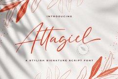 Attagiel - Handwritten Font Product Image 1