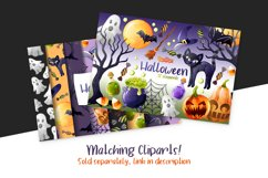 Halloween Digital Papers Product Image 2