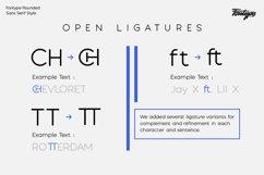 Fontype Rounded - Font Family Product Image 2
