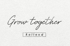 Rolland Handwitten Font Product Image 3