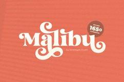 Malibu Fancy Vintage Font Product Image 1