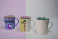 Mugs Mockups. 3 PSD files with smart objects. Product Image 4