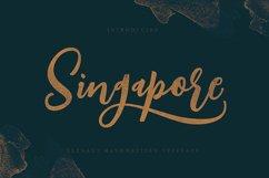 Singapore Script Font Product Image 5