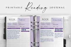 Printable Book Reading Journal Product Image 3
