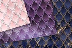 Dragon Glitter Digital Paper Product Image 3