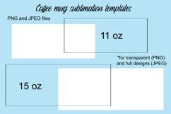 Coffee Mug Sublimation Templates Product Image 1
