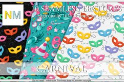 Carnival 10 Seamless Textures Product Image 1