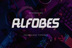 Alfobes typeface Product Image 1