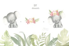 SAFARI ANIMALS. Watercolor set Product Image 3