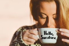 Shot of Coffee Bold and Thick Handwritten Font Product Image 5