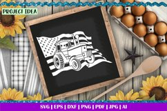 American Farmer Black | Life is better on the Farm | Tractor Product Image 4
