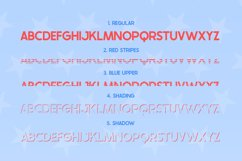 The USA Font Family Product Image 3