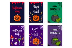 Halloween collection. Patterns, Elements, Posters Product Image 2