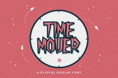 Time Mover - Playful Display Font Product Image 1