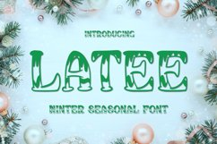 Latee Font Product Image 1