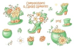 Cute Gnomes for Saint Patrick's Day Product Image 4