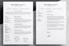 Clean Resume / CV Template Product Image 2