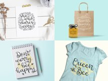 Honey Bumbles, a curly, round script font Product Image 3