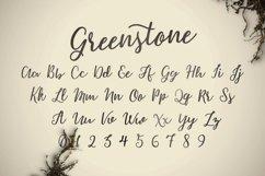 Greenstone Script - Font Product Image 3