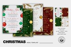 Christmas Menu Template V1 Product Image 2