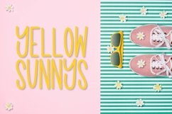 Sunkissed Beach - a Hand Lettered Font Pair - Script & Print Product Image 10