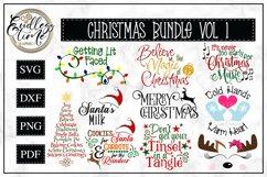 Christmas Bundle Vol 1 | 10 Fun Christmas SVGs Product Image 1