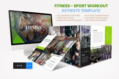 Sport - Fitness Business Workout Keynote Template Product Image 1