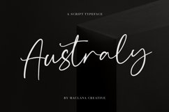 Australy Font Product Image 1