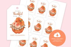 Thanksgiving Printable Gift Tags Product Image 3
