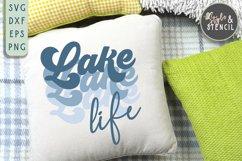 Lake Life SVG   Summer   Retro Shirt   Sublimation Product Image 4