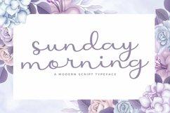 Web Font Sunday Morning Product Image 1