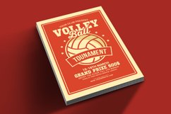 Volleyball Tournament Flyer Product Image 2