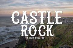 Web Font Castle Rock Product Image 1