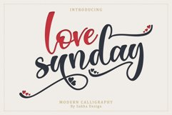 Love Sunday Product Image 1