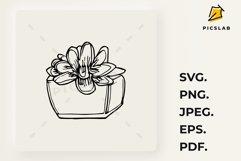Flower pot - Flower plant - Flower clip art - House plant Product Image 3